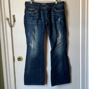 Vigoss collection fit bootcut jeans size 11